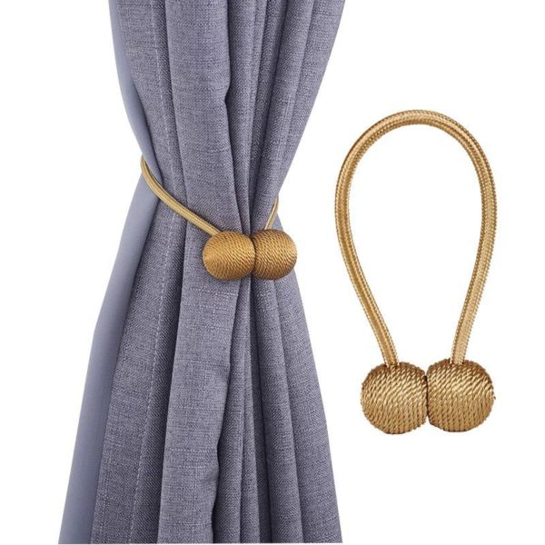 Home-Furniture-decorative-Magnetic-Curtain-Buckle-Tieback